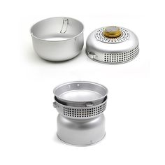 3-5 persons Outdoor Camping Picnic Stove Cookware Cooker sets Alcohol Stove with Pots Aluminium Utensils Camping Cooker Set