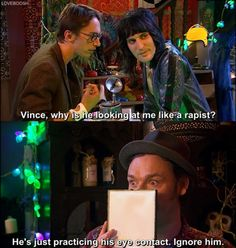 Vince & Howard (The Mighty Boosh, Mighty Mighty, The Mighty Boosh, English Comedians, Julian Barratt, Noel Fielding, Through Time And Space, Cry For Help, British Comedy, I Love To Laugh