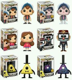 Gravity Falls Preorder Info Reveals Two Pop Vinyl Chases! - Entertainment Earth: Home of Action Figures: Toys, Collectibles . Funk Pop, Disney Pop, Funko Pop Figures, Vinyl Figures, Monster Falls, Desenhos Gravity Falls, Funko Pop Dolls, Figurine Pop, Disney Secrets