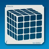 54-00050 rubiks cube stencil