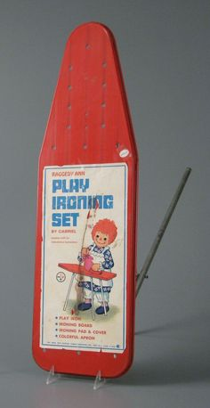 Raggedy Ann Ironing Board, 1970 by Gabriel Industries. Vintage Tools, Vintage Games, Mulberry Bush, 1970s Toys, Old Children's Books, Ironing Boards, Storybook Characters, Raggedy Ann And Andy, Online Collections