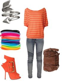 """""""color monster"""" by lilyth22 ❤ liked on Polyvore"""