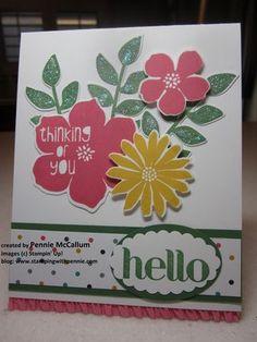 Nature's Hello + Secret Garden Choosing your colors easily! Pennie McCallum