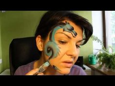 Chinese Dragon - Face Painting Tutorial