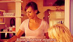 Words of wisdom in .gif form from Leslie Knope and Ann Perkins.