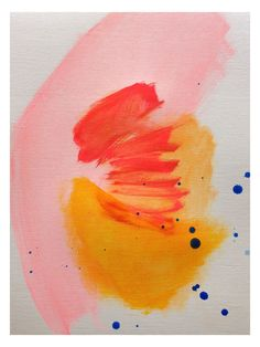 Nectarine by Jenny Andrews Anderson (Canvas) by Bashian Home at Gilt