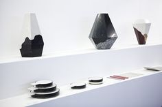 Caesarstone in collaboration with Design Space Gallery at the Fresh Paint Art Fair 2014 - Designs made of Caesarstone surfaces by Shira Keret and Itay Laniado, Nir Meiri and Kukka Products