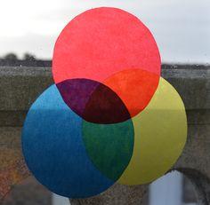 découvrir les couleurs primaies et mélanges activité papier calque sur fenetre (6)