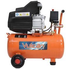 Compressor de Ar VULCAN 2,5HP 220Volts 25 L Vazão 160L/min. 115psi/8bar