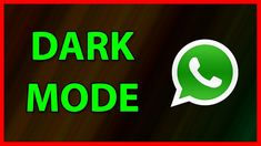 Android tricks 524669425342234040 - How to enable Dark mode in WhatsApp Messenger Update) Source by shaisoft Android Tutorials, Android Hacks, Video Tutorials, Whatsapp Tricks, Whatsapp Messenger, Eye Strain, Chat App, Enabling, Neon Signs