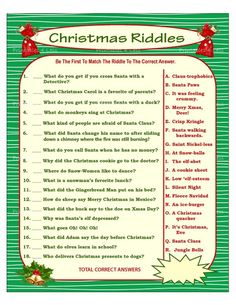 16 Best Christmas Riddles images