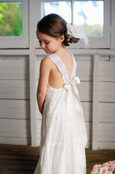 "It's called ""the Amelia"" dress tea princess Cute Flower Girl Dresses, Lace Flower Girls, Little Girl Dresses, Girls Dresses, Bridesmaid Flowers, Bridesmaid Dresses, Wedding Dresses, Bridesmaids, Crochet Lace Dress"