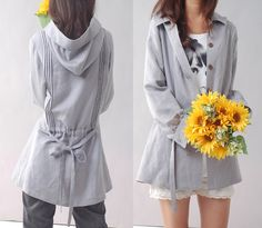 Immortelle  top quality linen blouse and jacket by idea2lifestyle, $55.00