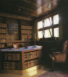 Adolf Loos - Villa Karma reading corner