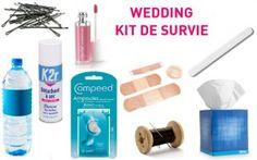 Le kit d'urgence de la mariée pour le jour J 1