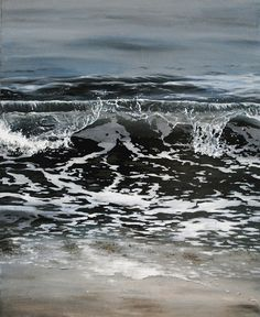 Another piece of the ocean by Linnea Strid, via Flickr- painting.