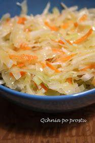Qchnia po prostu: Chińska surówka z białej kapusty Asian Slaw, Cabbage, Grilling, Favorite Recipes, Vegetables, Food, Gastronomia, Diet, Salads