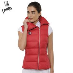 Spooks Calista Gilet - Red - NOW £69.00