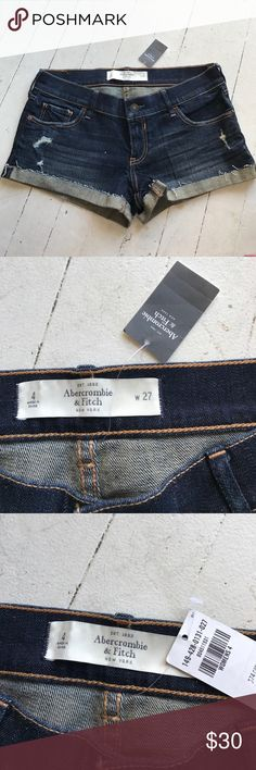 NWT abercrombie jean shorts NWT Abercrombie & Fitch Shorts Jean Shorts