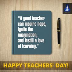 A teacher touches the student's heart for a moment, but his life, forever. Jaycee Homes salutes all the teachers and wishes them a Happy teachers' Day!