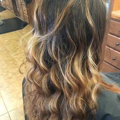Beautiful Ombre with babyLites at the top