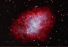 crab nebula | Image: M1 Crab Nebula by Patric Knoll - 2009
