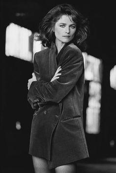 Charlotte Rampling photo Peter Lindbergh