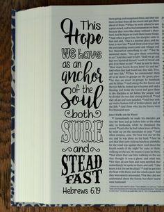 HEBREWS 4 Bible journaling printable by BibleVerseColoring