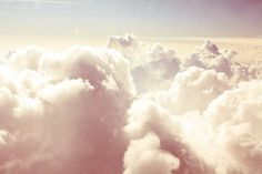 up in the clouds.............