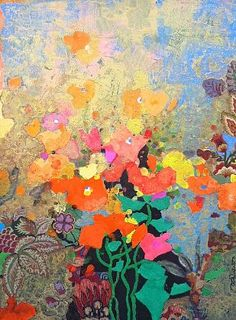Mark English - 'Yellows in Bloom' - Telluride Gallery of Fine Art
