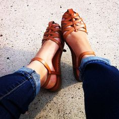 AE Strappy Spring Sandals