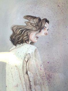 henrietta harris, rostros que se diluyen A Level Art, Ap Art, Gcse Art, Portraits, Art Inspo, Art Reference, Cool Art, Art Drawings, Art Projects