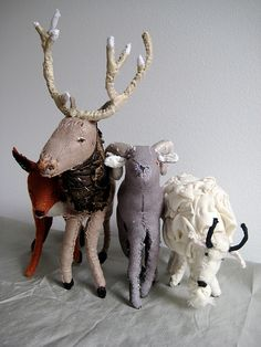 mobile animals by astulabee, via Flickr