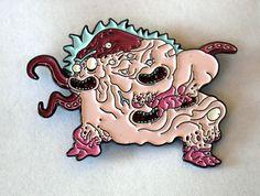 Cronenberg Rick – Rick & Morty Pin (Limited Edition)