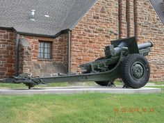 45th Infantry Division Museum Oklahoma City, Oklahoma M1918 Schneider 155mm Howitzer