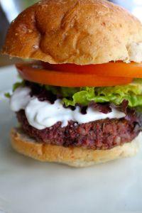 Juicy Veggie Burgers. Best veg burger recipe that I have found. IMG_4356