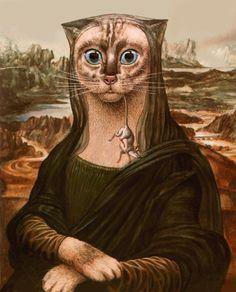 Mona, portrait of a beauty [BaerenzCao] (Gioconda / Mona Lisa)