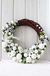 Czyli co mi w duszy gra. Christmas Projects, Christmas Crafts, Christmas Ornaments, Noel Christmas, Winter Christmas, 242, Holiday Wreaths, Winter Wreaths, Spring Wreaths