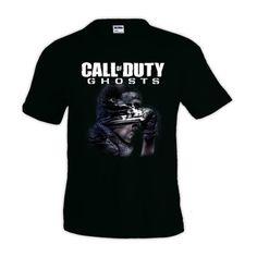 Camiseta Call of Duty Ghosts - fanart #camiseta #friki #moda #regalo