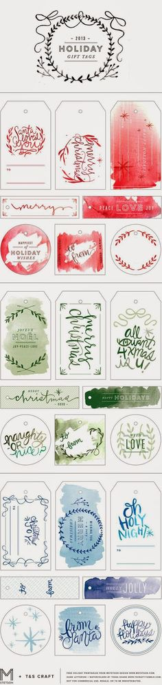 Dana Garden Design: Printable per Natale