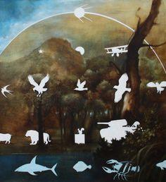"Saatchi Online Artist: Sergey Mosienko; Acrylic, 2010, Painting ""SHOOTING RANGE. SERIES ""ALBAVITA"""""