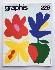 Graphis No 226 - Results - Search Objects - eMuseum Museum of Design . Buch Design, Design Art, Print Design, Poster Layout, Graphic Design Illustration, Illustration Art, Plakat Design, Japanese Design, Grafik Design