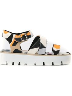 cebc043abfc780 MSGM Criss-Cross Flatform Sandals.  msgm  shoes  flats
