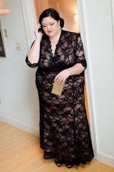 6fc820a1c37 Belle of the Ball. Black Tie AttirePlus Size Fashion ...
