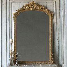 Antique French Louis XV Mirror: 1880 MVP07007 #ELOQUENCE