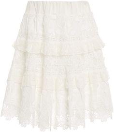 Alexis Jaqueline Guipure Lace Mini Skirt