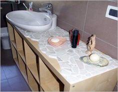 Small Changes, Ikea Hacks, Sink, Ikea Expedit, Interior, Bathroom Ideas, House, Home Decor, Sink Tops