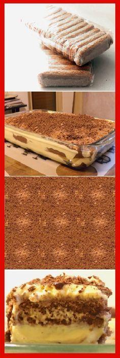 TIRAMISU FÁCIL!!! #receta #recipe #casero #torta #tartas #pastel #nestlecocina #bizcocho #bizcochuelo #tasty #cocina #cheescake #helados #gelatina #gelato #flan #budin #pudin #flanes #pan #masa #panfrances #panes #panettone #pantone #panetone #navidad #chocolate Si te gusta dinos HOLA y dale a Me Gusta MIREN..