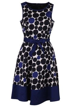 Esprit Collection Small Polka Dot S/L Dress