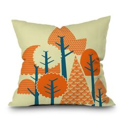 Find it at the Foundary - Budi Kwan Forest Throw Pillow